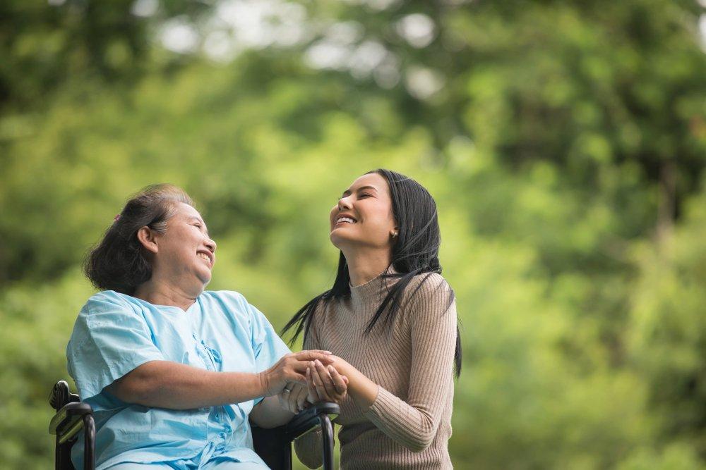 Pflegende und betreuende Angehörige